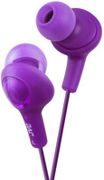 JVC GUMY PLUS IN EAR HEADPHONE, PURPLE