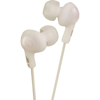 JVC GUMY PLUS IN EAR HEADPHONE WHITE