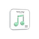 Happy Plugs Earbuds Plus with Mic, Mint