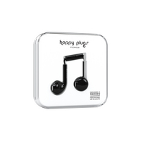Happy Plugs  7815 Earbuds PlusBlack