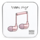 Happy Plugs InEar EarbudswMic Pink Gold