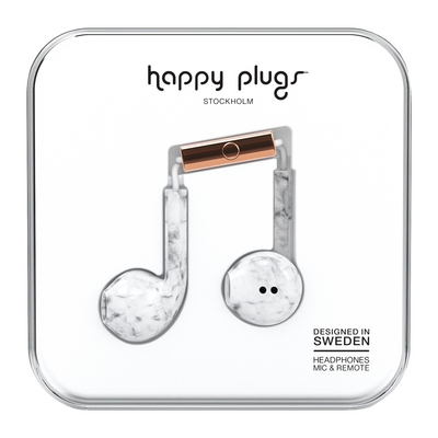 Happy Plugs Earbuds Plus with mic, Pattern