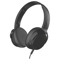 Skullcandy Riff OnEar Headphones with Tap Tech, Black