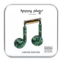 Happy Plugs  7607 EarbudsPlus Peacock