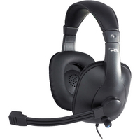 Cyber Acoustics AC968 USB Stereo Headset with Noise Cancelling Mic