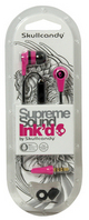 Skullcandy Inkd 2.0 InEar Earbuds with Mic,PinkBlack