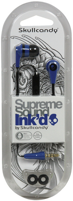 Skullcandy, Inc Inkd 2.0 Earbud Headphones with Mic (BlueBlack)