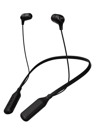 JVC Marshmallow Wireless Neckband Headphone Black