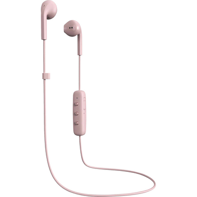 Happy Plugs Earbuds Plus Wireless with Mic, Blush