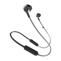 JBL Tune 205 Wireless Earbuds with Mic, Black