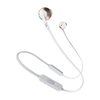 JBL Tune 205 Wireless Earbuds, Rose Gold