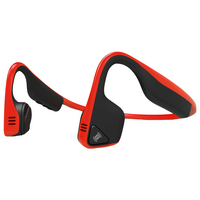 AfterShokz Trekz Titanium Wireless Headphones, Red