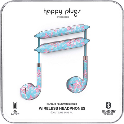 Happy Plugs Earbuds Plus Wireless 2 Botanica Exot