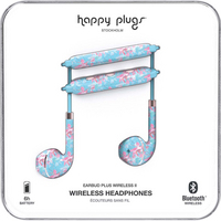 Happy Plugs Earbuds Plus Wireless II, Botanical