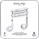 Happy Plugs Earbuds Plus Wireless 2 White Marble