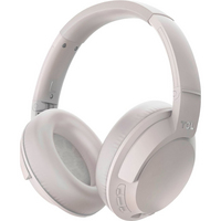 TCL Wireless Noise Canceling Over the Ear Stereo Headphones in Cement Gray