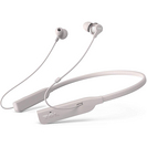 TCL Wireless Active Noise Cancelling In Ear Neckband Headphones with Mic in Cement Gray
