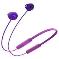 TCL Sunrise Purple Wireless Inear Bluetooth Headphones with Noise Cancelling Microphone