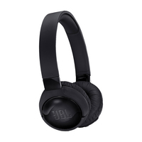 JBL Tune 600 ANC Wireless Headphones,  Black, Black