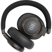 JBL Live 650BTNC Wireless Noise Cancelling OverEar Headphone,  Black, Black