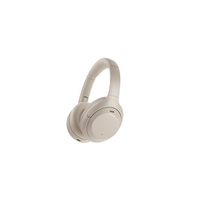 Sony Wireless Noise Canceling Overhead Headphones, Silver