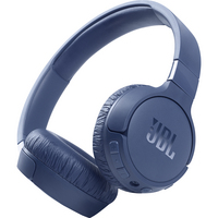 JBL Tune 660NC Wireless Noise Cancelling OnEar Headphones, Blue