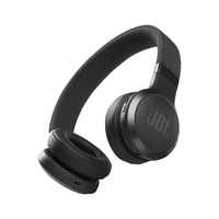 JBL Live 460NC Wireless Noise Cancelling OnEar Headphones, Black