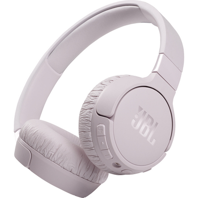 JBL Tune 660NC Wireless Noise Cancelling OnEar Headphones, Pink