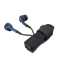 Zagg Plugz Bluetooth Wireless Earbuds, Blue Navy