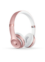 Beats Solo 3 Wireless On Ear Headphone, Rose Gold