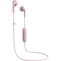 Happy Plugs 7887 Earbuds,  Plus,  Wireless w Mic Blush