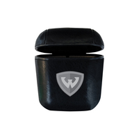 Leather Airpod Case, Black, Alumni V2