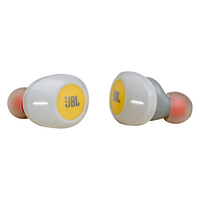 JBL Tune 120 True Wireless InEar Earbuds, Yellow