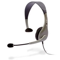 Cyber Acoustics AC840 Usb Mono Headset Internet Communication and Boom Mic