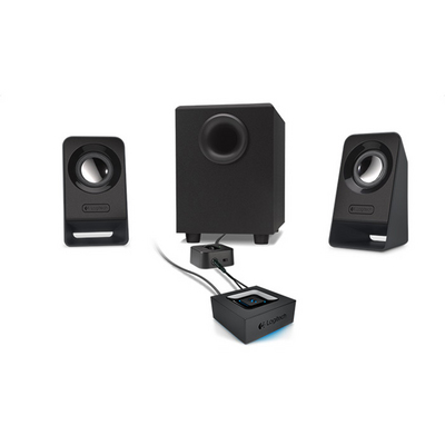 Logitech Z213 Multimedia Speakers with Subwoofer and 2 Satellites in Black