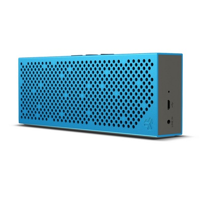 Crasher Slim Portable Bluetooth Speaker with Lightweight Metal Body  Blue