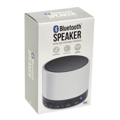 GEMS BLUETOOTH SPEAKER White