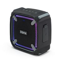iHome Weather Tough Portable Rechargeable Bluetooth Speaker