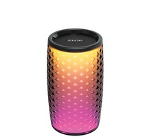 iHome iBT78B Portable Bluetooth Smart Speaker with Color Changing LEDs and Siri and Google Support