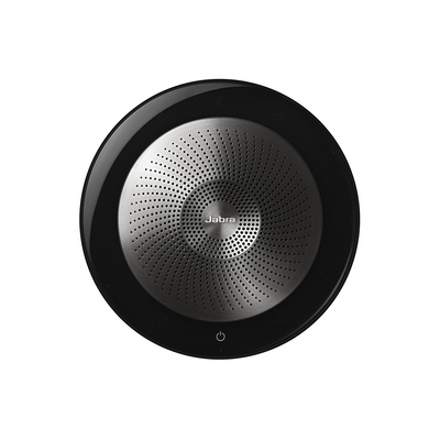 Jabra Speak 710 Portable Bluetooth Smart Speaker with Google Assistant and Siri Support in Black