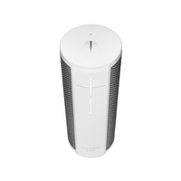 Logitech Megablast Portable Bluetooth Smart Speaker with Alexa Support in Blizzard White