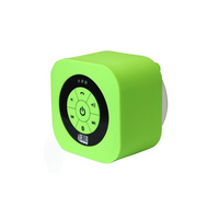 Adesso Xtream S1G Portable Bluetooth Waterproof Speaker System in Neon Green