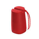 SuperSonic Wireless Portable Bluetooth Speaker Red