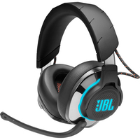 JBL Quantum 800 Wireless ANC OverEar Gaming Headset, Black