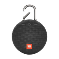JBL Clip 3 Wireless Speaker, Black