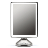 10 x 13 Telescoping Portable Vanity Mirror with Bluetooth, Speakerphone, and USB Charging