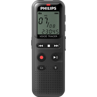 Philips Voice Tracer DVT1150 Audio Recorder with 4GB Internal Storage