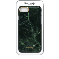 Happy Plugs iPhone 7 Slim Case, Green Marble