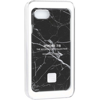HAPP 9142 iPhone 8 Slim Case Black Marble