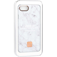 Happy Plugs Slim Case,White Marble